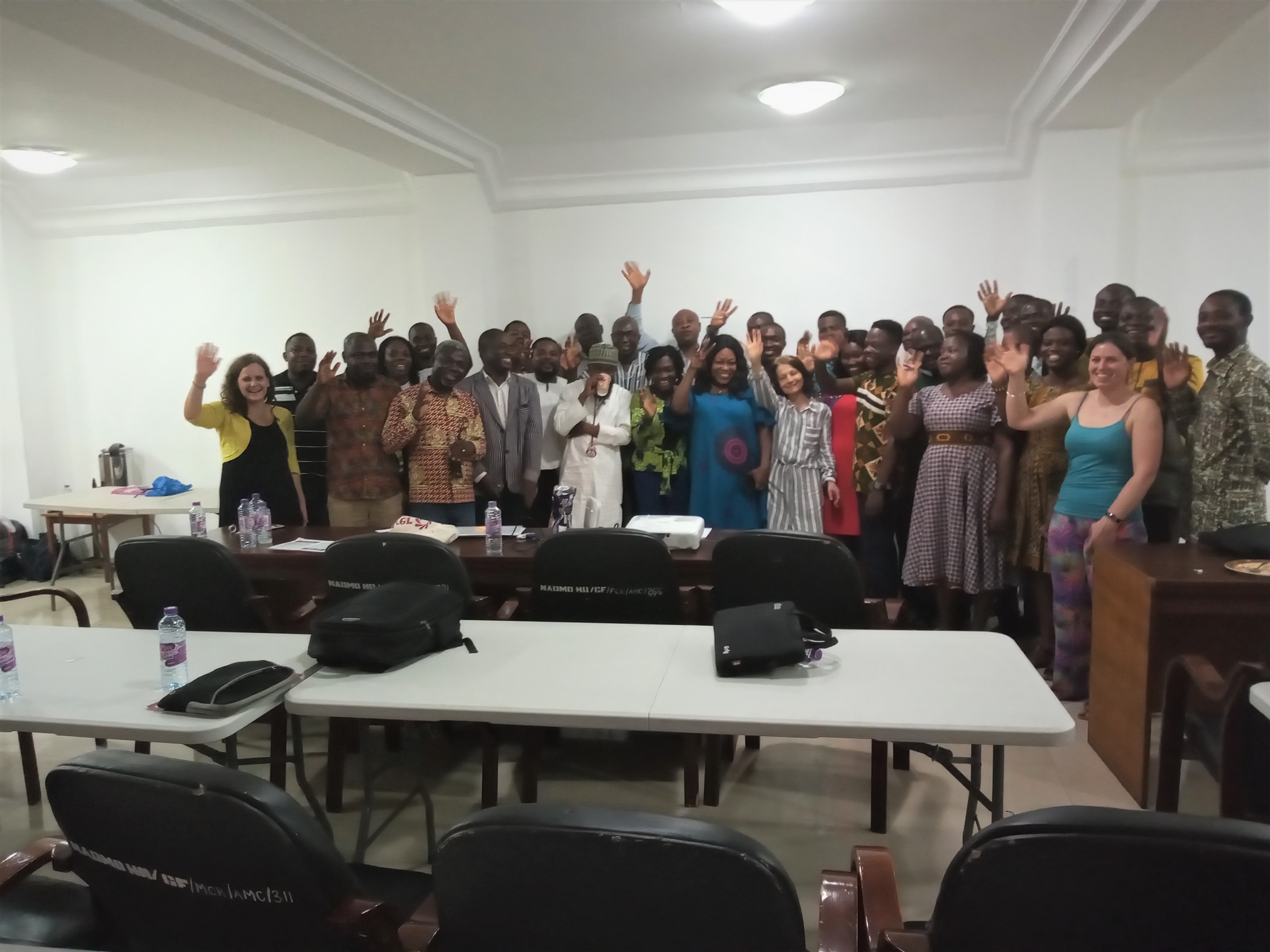 Group photo from Ghana 2020, Adaptive Social Protection Training Lab